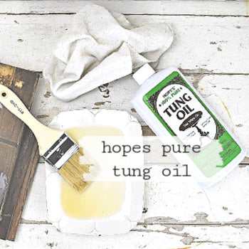 Hope's 100% Pure Tung Oil, 1 Pint Bottle