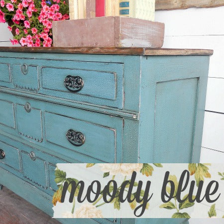 Sweet Pickins Milk Paint, Moody Blue