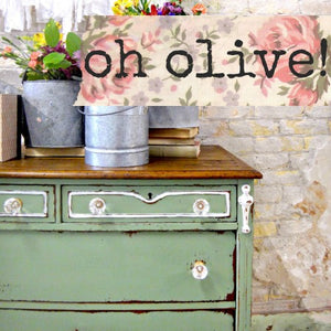 Sweet Pickins Milk Paint, Oh Olive
