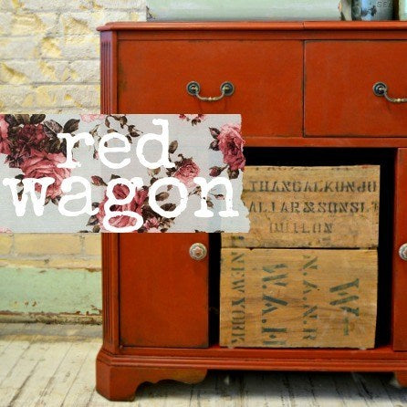 Sweet Pickins Milk Paint, Red Wagon