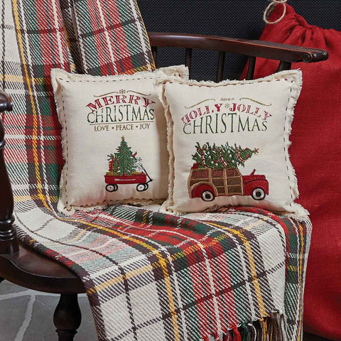 Christmas Cushions, Throws & Rugs