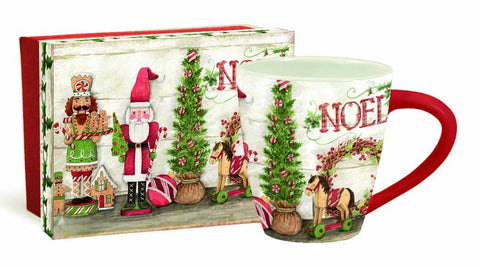 Christmas Nutcracker Cafe Mug