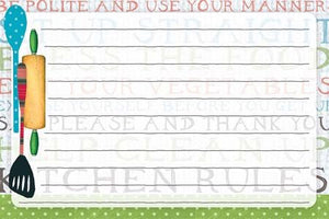 Lang Kitchen Rules Recipe Cards