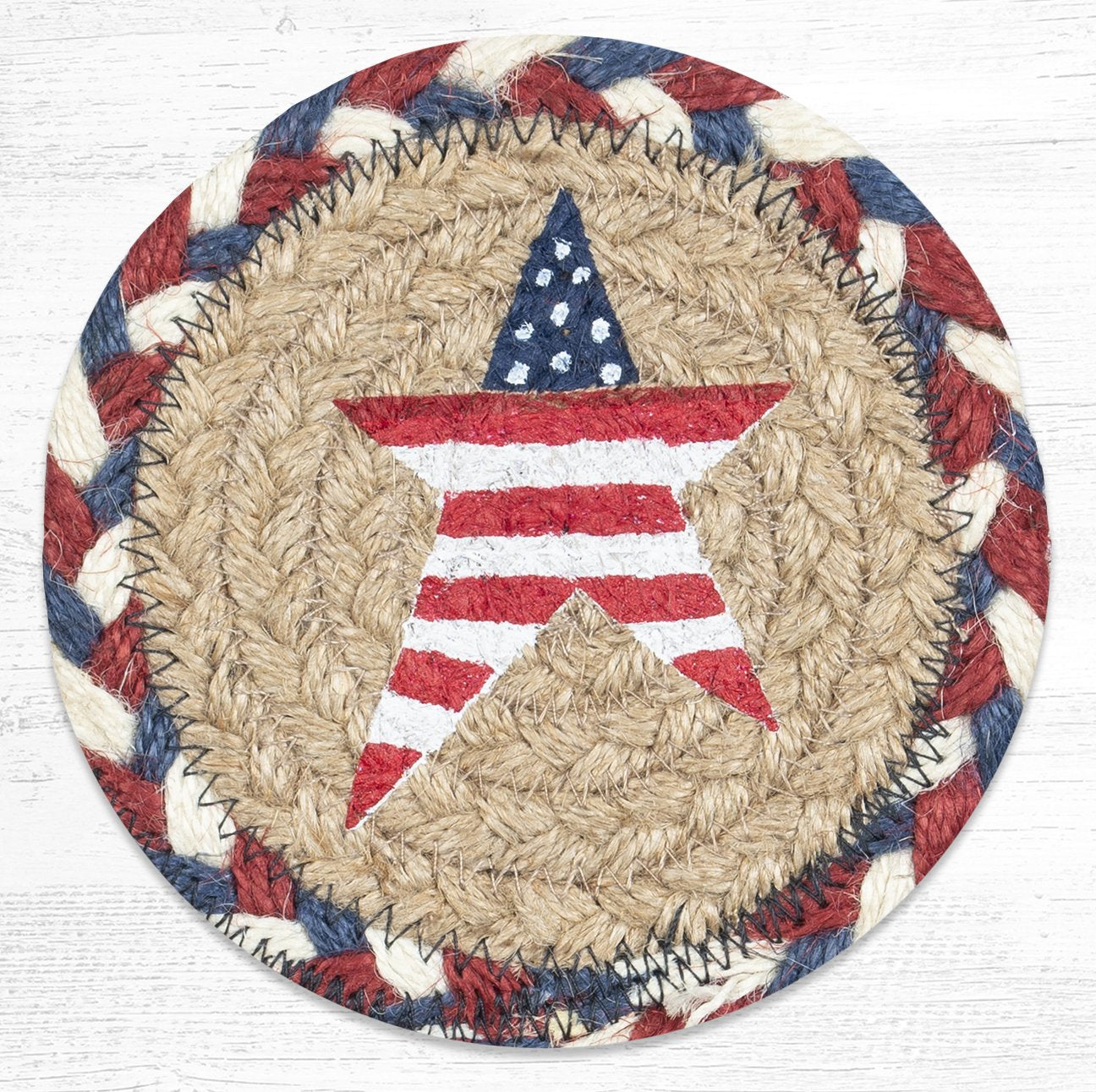 Primitive American Star Coaster