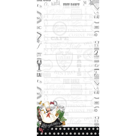 Lang Let's Get Cooking Mini List Pad