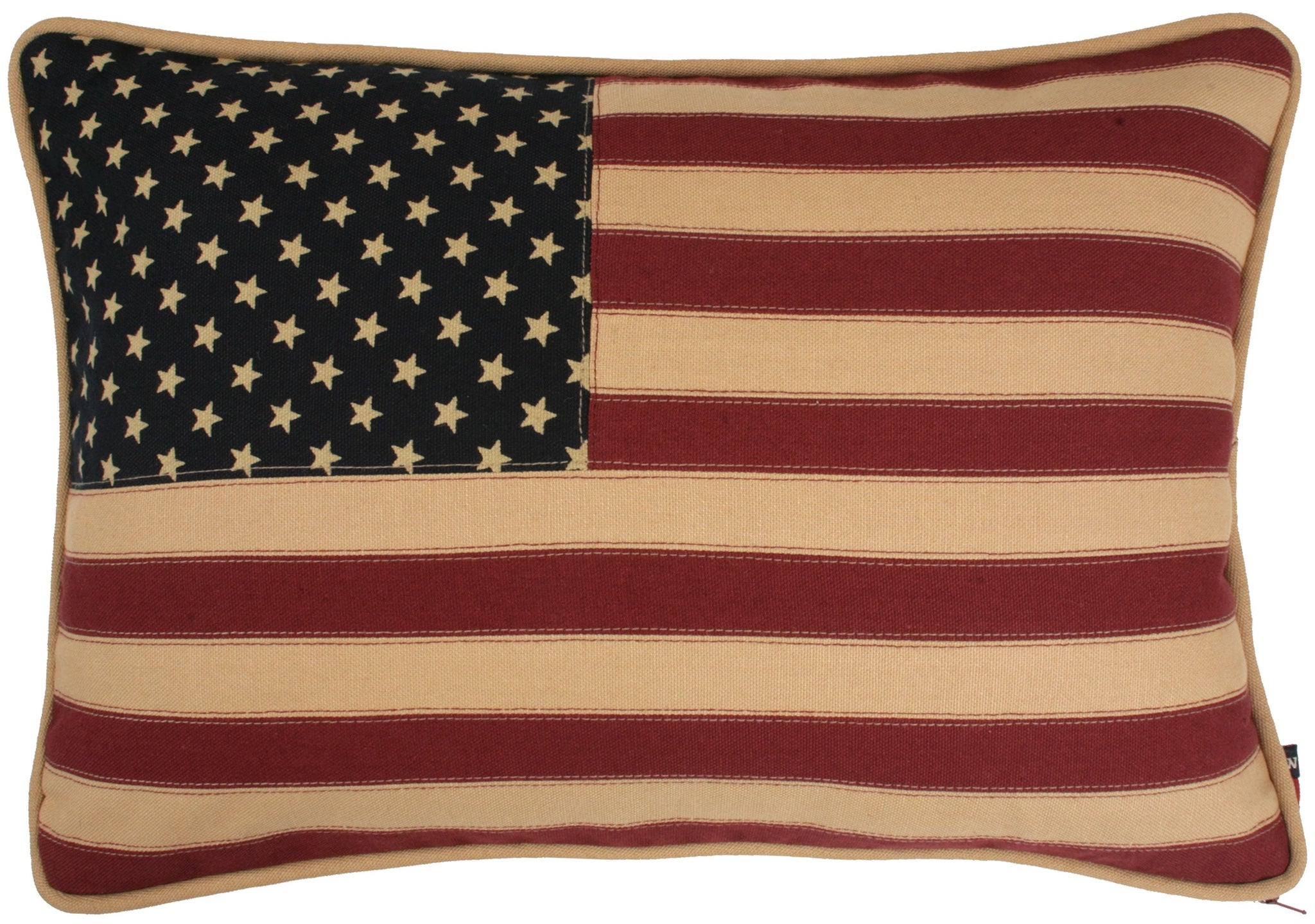 Vintage Glory Flag Cushion