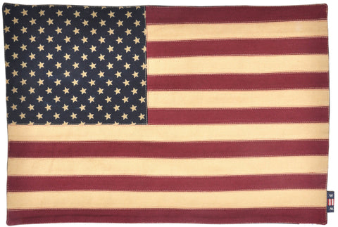 Vintage Glory Flag Placemat