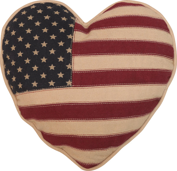 Vintage Glory Heart Cushion