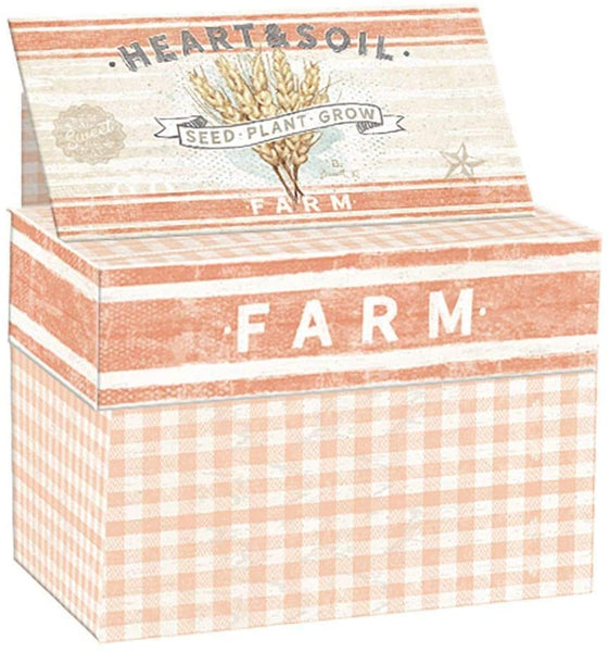 Lang Farmhouse Recipe Card Box