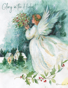 "Lang ""Angel of Christmas"" Boxed Christmas Cards"