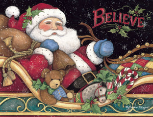 "Lang ""Believe Santa"" Boxed Christmas Cards"