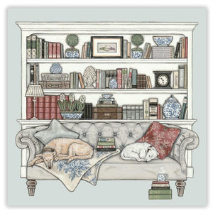 Sally Swannell 'Bookends' Greetings Card
