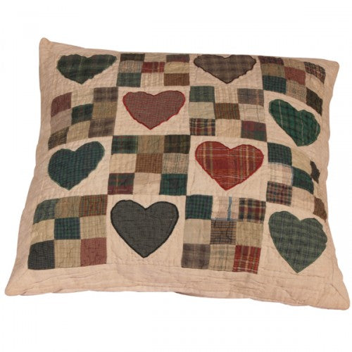 COUNTRY HEART CUSHION