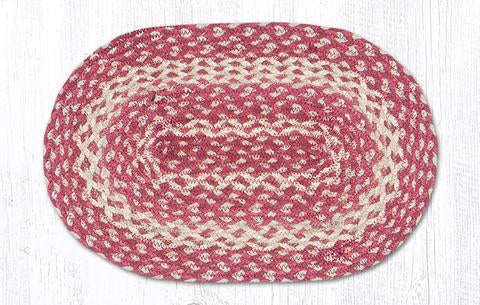 CHERRY BRAIDED PLACEMAT
