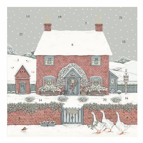 Sally Swannell Christmas Cottage Advent Calendar