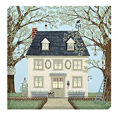 Sally Swannell 'Country House' Greetings Card