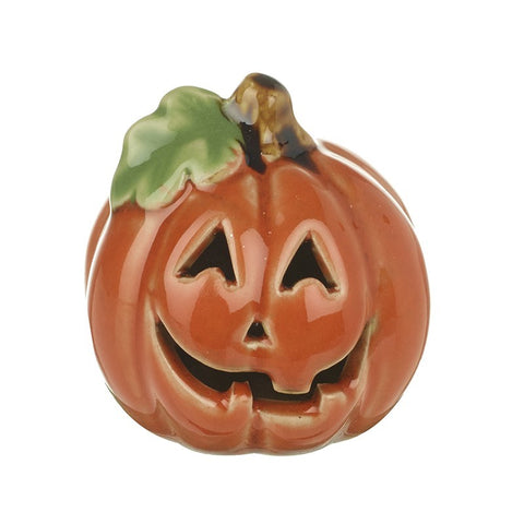 Ceramic Halloween Cut-out Pumpkin