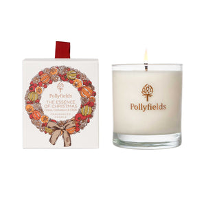 Essence of Christmas Orange & Cinnamon Candle