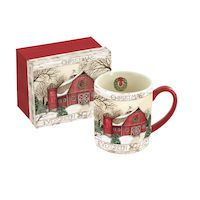EVERGREEN FARM CHRISTMAS MUG