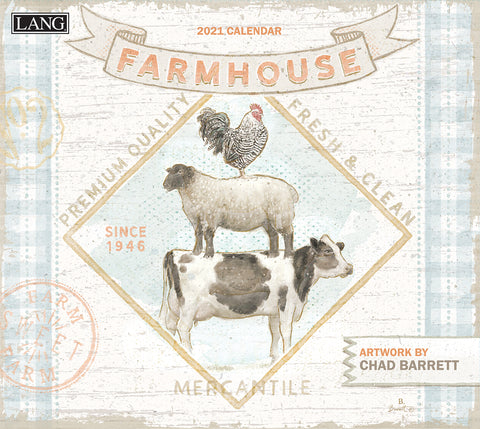 Lang 2021 Farmhouse Wall Calendar