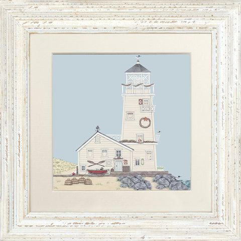 Sally Swannell Lighthouse Print