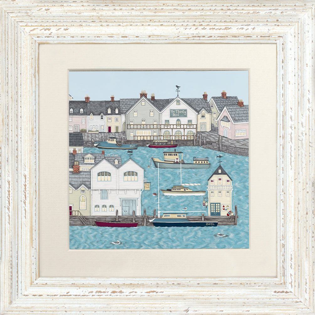 Sally Swannell Harbour Print