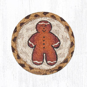 GINGERBREAD MAN COASTER