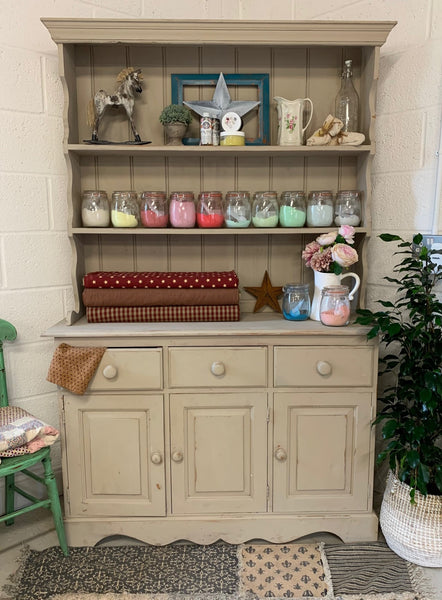4ft Dresser Painted in Truffle Milk Paint