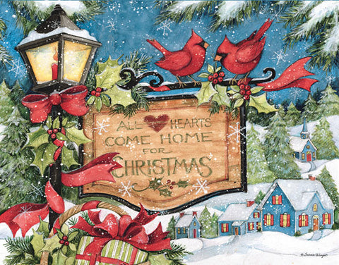 "Lang ""Hearts Come Home"" Boxed Christmas Cards"