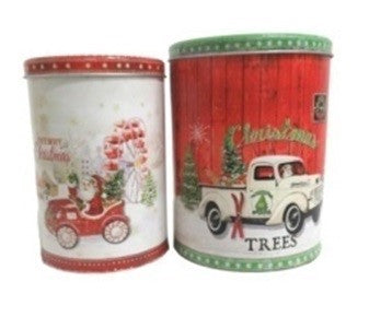 Christmas Canister Set