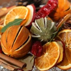 CINNAMON AND ORANGE FRUIT BAG