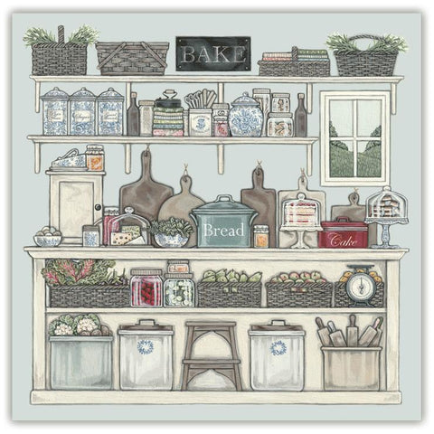 Sally Swannell 'The Pantry' Greetings Card