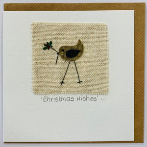 Patch Match  'Christmas Robin'  Card