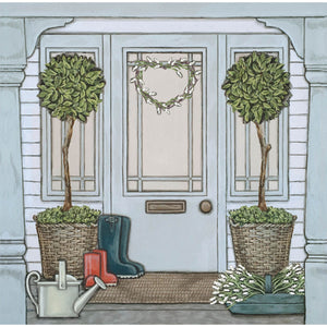 Sally Swannell 'Porch' Greetings Card