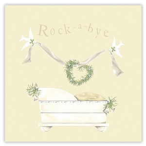Sally Swannell 'Rock A Bye' New Baby Card