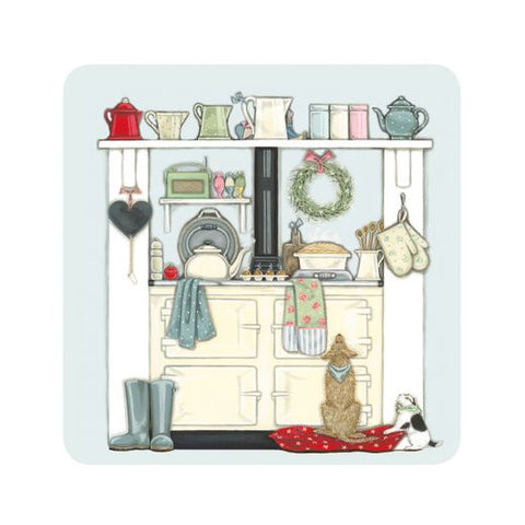 "Sally Swannell ""Domestic Goddess"" Coaster"