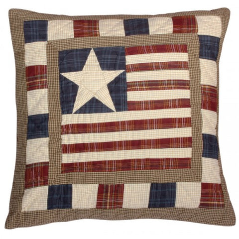 "Stars and Stripes 18"" Cushion"