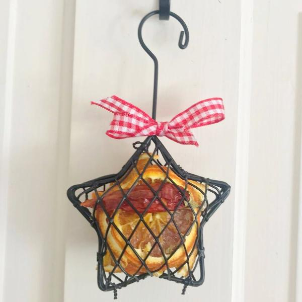 CAGE STAR TREE DECORATION