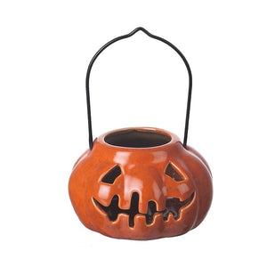 Halloween Ceramic Pumpkin Lantern