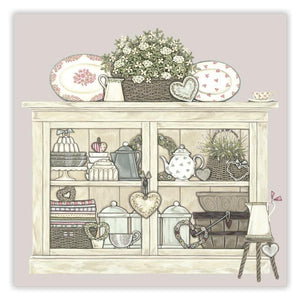 Sally Swannell 'Vintage Cupboard' Greetings Card