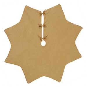 Burlap (Hessian) Tree Skirt, Natural