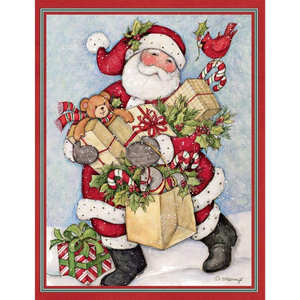 Lang Candy Cane Snowman & Santa Assorted Christmas Cards
