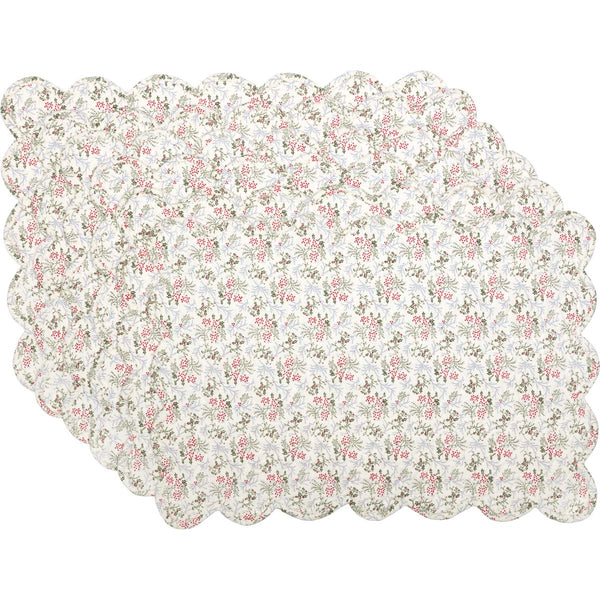 Carol Quilted Placemat Set of 2