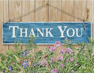 Flower Garden Boxed Thank You Cards