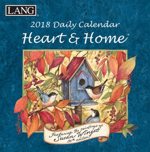 Lang Heart & Home 2018 Boxed Daily Calendar