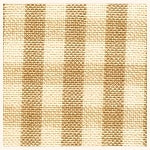 Homespun Cotton, Wheat/Tea-Dyed Check