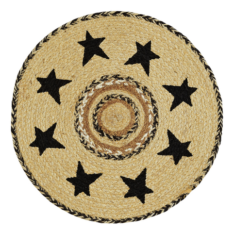 Jute Braided Tablemat, Kettle Grove 13""