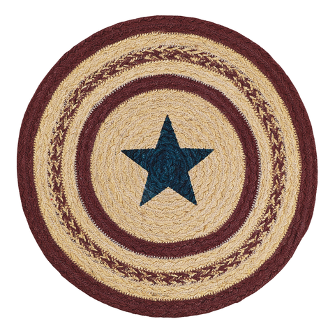 BRAIDED STAR TABLEMAT