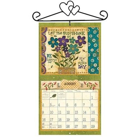 Lang Heart Calendar Holder