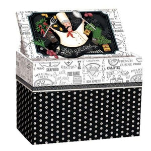 Lang Let's Get Cooking Recipe Card Box